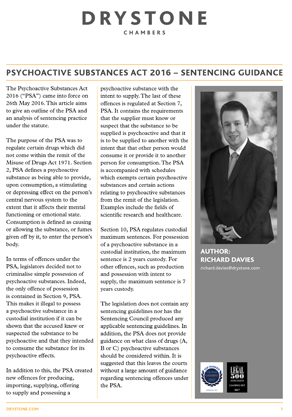 Psychoactive Substances Act 2016