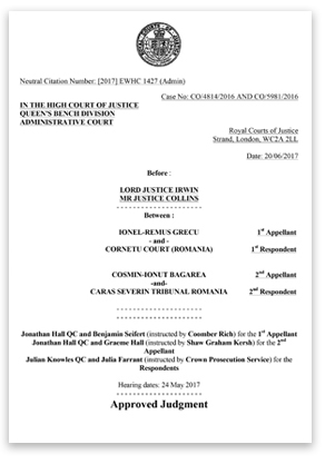 Decision of the Divisional Court